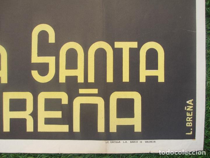 Carteles de Semana Santa: CARTEL SEMANA SANTA 1962, CACEREÑA, CACERES, L.BREÑA, SS6 - Foto 5 - 116883543