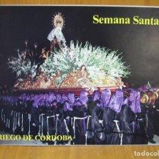 Carteles de Semana Santa: PROGRAMA SEMANA SANTA DE PRIEGO DE CORDOBA 1986. Lote 118368239