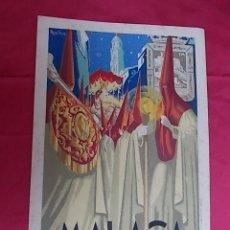 Carteles de Semana Santa: CARTEL. MÁLAGA. SEMANA SANTA . 1950. Lote 119385751