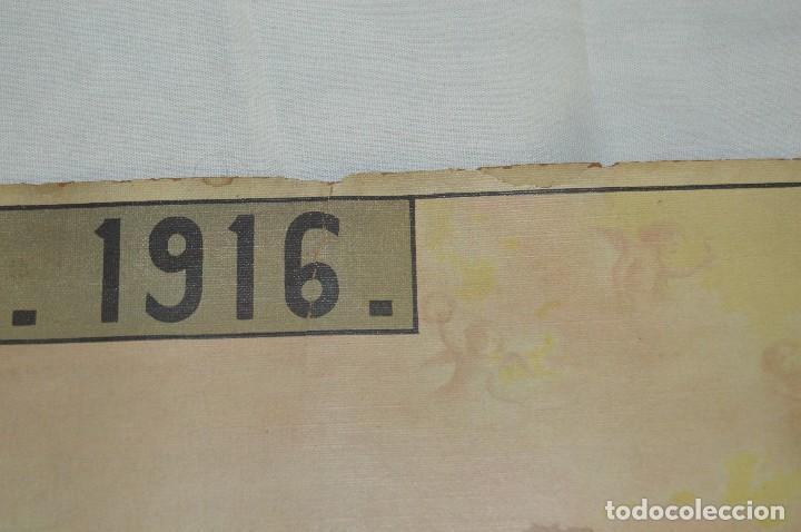Carteles de Semana Santa: JOYA - 1916 - CARTEL DE SEMANA SANTA Y FERIAS DE SEVILLA - LITOGRAFÍA S. DURÁ VALENCIA - Foto 5 - 121971175