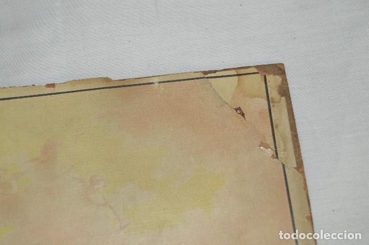 Carteles de Semana Santa: JOYA - 1916 - CARTEL DE SEMANA SANTA Y FERIAS DE SEVILLA - LITOGRAFÍA S. DURÁ VALENCIA - Foto 8 - 121971175