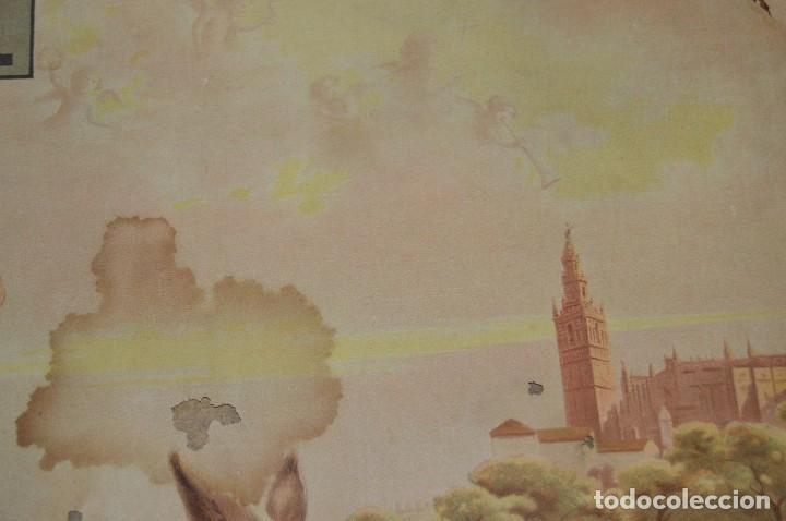 Carteles de Semana Santa: JOYA - 1916 - CARTEL DE SEMANA SANTA Y FERIAS DE SEVILLA - LITOGRAFÍA S. DURÁ VALENCIA - Foto 10 - 121971175