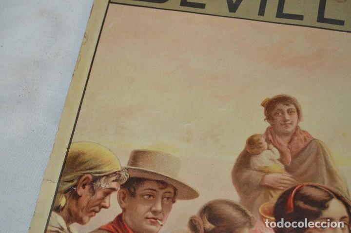 Carteles de Semana Santa: JOYA - 1916 - CARTEL DE SEMANA SANTA Y FERIAS DE SEVILLA - LITOGRAFÍA S. DURÁ VALENCIA - Foto 14 - 121971175