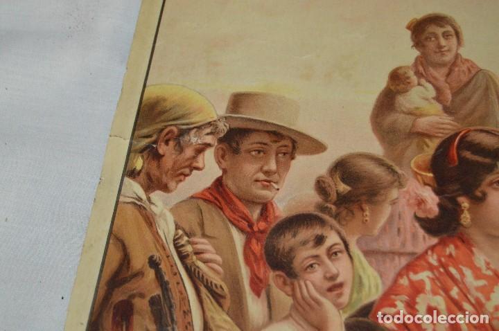 Carteles de Semana Santa: JOYA - 1916 - CARTEL DE SEMANA SANTA Y FERIAS DE SEVILLA - LITOGRAFÍA S. DURÁ VALENCIA - Foto 15 - 121971175