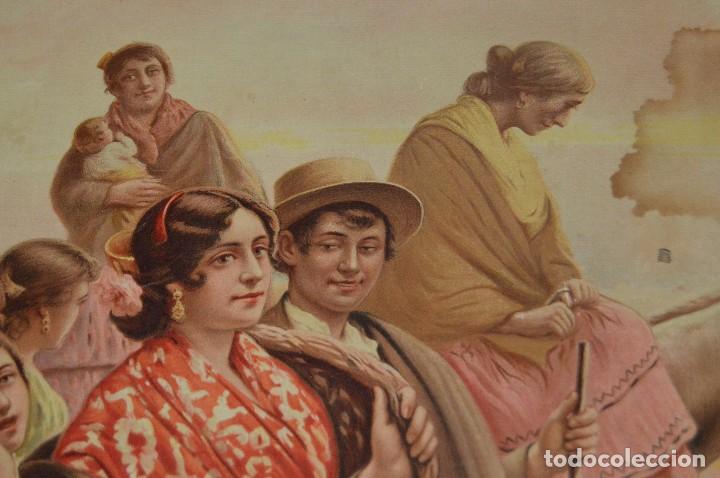 Carteles de Semana Santa: JOYA - 1916 - CARTEL DE SEMANA SANTA Y FERIAS DE SEVILLA - LITOGRAFÍA S. DURÁ VALENCIA - Foto 17 - 121971175