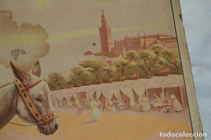 Carteles de Semana Santa: JOYA - 1916 - CARTEL DE SEMANA SANTA Y FERIAS DE SEVILLA - LITOGRAFÍA S. DURÁ VALENCIA - Foto 20 - 121971175