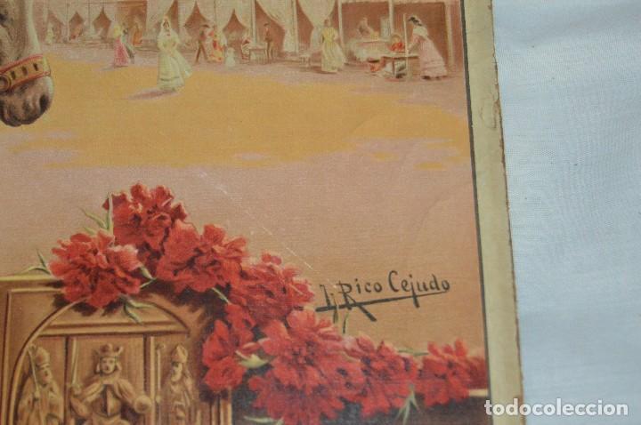 Carteles de Semana Santa: JOYA - 1916 - CARTEL DE SEMANA SANTA Y FERIAS DE SEVILLA - LITOGRAFÍA S. DURÁ VALENCIA - Foto 21 - 121971175