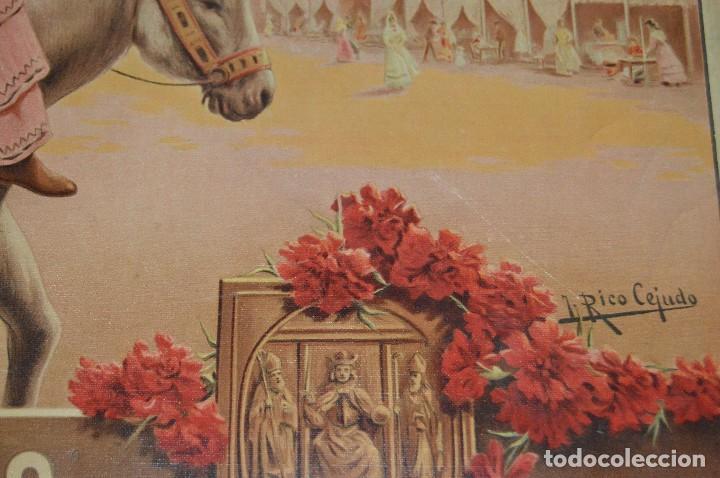 Carteles de Semana Santa: JOYA - 1916 - CARTEL DE SEMANA SANTA Y FERIAS DE SEVILLA - LITOGRAFÍA S. DURÁ VALENCIA - Foto 22 - 121971175