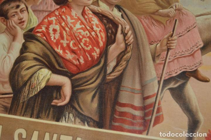 Carteles de Semana Santa: JOYA - 1916 - CARTEL DE SEMANA SANTA Y FERIAS DE SEVILLA - LITOGRAFÍA S. DURÁ VALENCIA - Foto 24 - 121971175