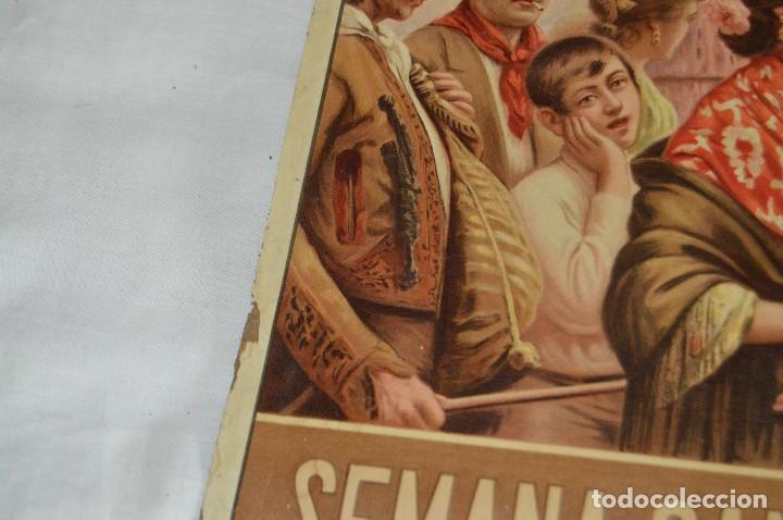 Carteles de Semana Santa: JOYA - 1916 - CARTEL DE SEMANA SANTA Y FERIAS DE SEVILLA - LITOGRAFÍA S. DURÁ VALENCIA - Foto 26 - 121971175