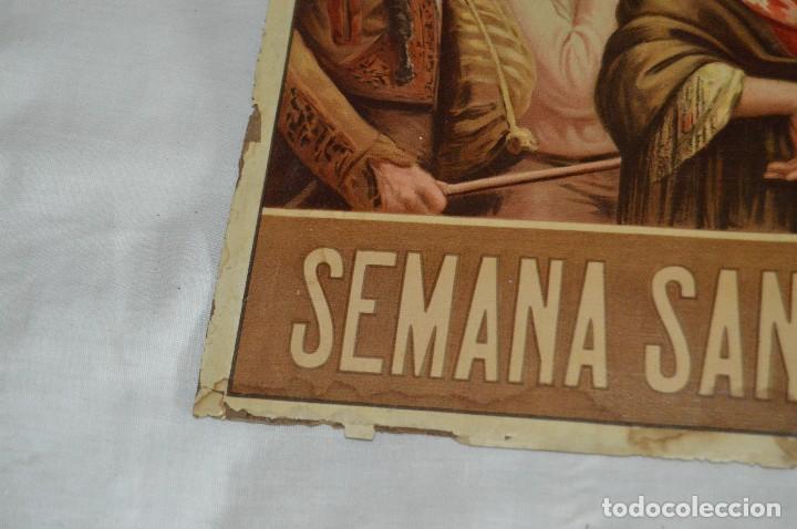 Carteles de Semana Santa: JOYA - 1916 - CARTEL DE SEMANA SANTA Y FERIAS DE SEVILLA - LITOGRAFÍA S. DURÁ VALENCIA - Foto 27 - 121971175
