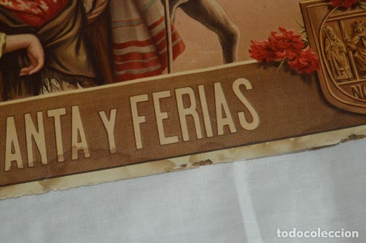 Carteles de Semana Santa: JOYA - 1916 - CARTEL DE SEMANA SANTA Y FERIAS DE SEVILLA - LITOGRAFÍA S. DURÁ VALENCIA - Foto 29 - 121971175