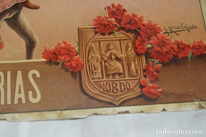 Carteles de Semana Santa: JOYA - 1916 - CARTEL DE SEMANA SANTA Y FERIAS DE SEVILLA - LITOGRAFÍA S. DURÁ VALENCIA - Foto 30 - 121971175