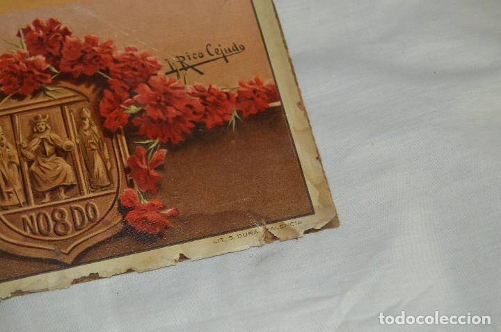 Carteles de Semana Santa: JOYA - 1916 - CARTEL DE SEMANA SANTA Y FERIAS DE SEVILLA - LITOGRAFÍA S. DURÁ VALENCIA - Foto 31 - 121971175