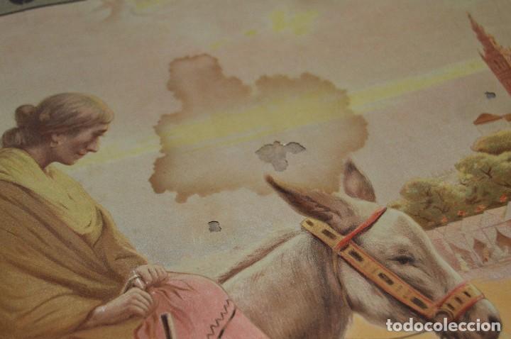 Carteles de Semana Santa: JOYA - 1916 - CARTEL DE SEMANA SANTA Y FERIAS DE SEVILLA - LITOGRAFÍA S. DURÁ VALENCIA - Foto 32 - 121971175
