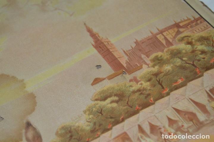 Carteles de Semana Santa: JOYA - 1916 - CARTEL DE SEMANA SANTA Y FERIAS DE SEVILLA - LITOGRAFÍA S. DURÁ VALENCIA - Foto 33 - 121971175
