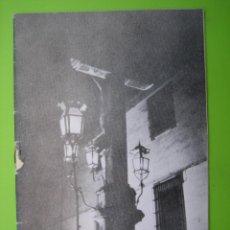 Carteles de Semana Santa: PROGRAMA DE ITINERARIOS SEMANA SANTA DE CORDOBA 1980. Lote 125905223