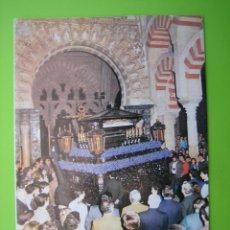 Carteles de Semana Santa: PROGRAMA DE ITINERARIOS SEMANA SANTA DE CORDOBA 1987. Lote 125905807