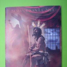 Carteles de Semana Santa: PROGRAMA DE ITINERARIOS SEMANA SANTA DE CÓRDOBA 2013. Lote 125906603