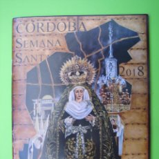 Carteles de Semana Santa: PROGRAMA DE ITINERARIOS SEMANA SANTA DE CÓRDOBA 2018. Lote 125906915