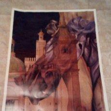 Carteles de Semana Santa: VENDO CARTEL PREGON SEMANA SANTA (TRIANA - SEVILLA) DEL AÑO 1997. VER MAS FOTOS.. Lote 212110643