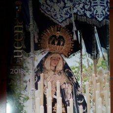 Affiches de Semaine Sainte: CARTEL SEMANA SANTA LUCENA 2018 A. Lote 130346827