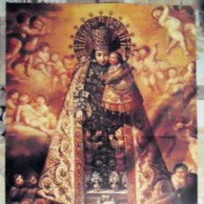Carteles de Semana Santa: CARTEL DE NUESTRA SEÑORA DE LOS DESAMPARADOS MEDIDAS: 41 X 56 CM PUBLICADO CON EL DIARIO EL LEVANTE. Lote 130371806