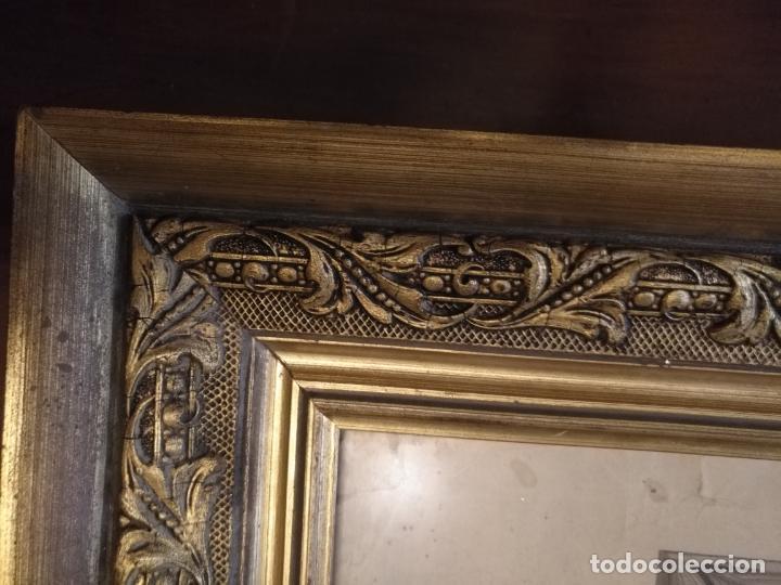 Carteles de Semana Santa: gran cartel grabado cristo del paño semana santa moclin granada marco madera dorada litografia anel - Foto 18 - 131000252
