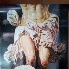 Carteles de Semana Santa: CARTEL SEMANA SANTA COFRADÍA SALESIANOS MÁLAGA 2011 B. Lote 131282702