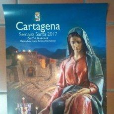 Carteles de Semana Santa: CARTEL SEMANA SANTA CARTAGENA MURCIA 2017 B. Lote 131587947