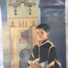 Carteles de Semana Santa: SEMANA SANTA SEVILLA 2002 CARTEL DE 50X72. Lote 193728641