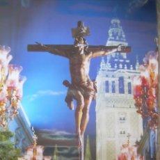 Carteles de Semana Santa: CARTEL CRISTO EN SEVILLA. SEMANA SANTA. Lote 132818274