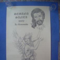 Carteles de Semana Santa: CARTEL SEMANA SANTA LA RINCONADA 2002, SEVILLA. Lote 132947946