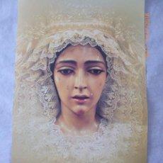 Carteles de Semana Santa: MALAGA, SEMANA SANTA 2003, MARIA STA, DE LA SALUD. 68X40. Lote 134066570