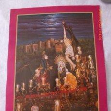 Carteles de Semana Santa: MALAGA, SEMANA SANTA, SALECIANOS 2003, 68X45. Lote 134066786