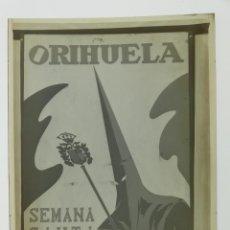 Affiches de Semaine Sainte: ORIHUELA, ALICANTE - SEMANA SANTA - CLICHE POSITIVO EN CELULOIDE DE LA LITOGRAFIA ORTEGA - AÑOS 1950. Lote 134179922