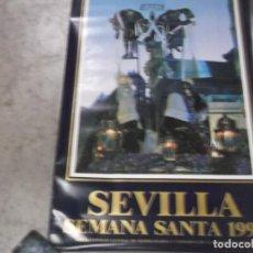 Carteles de Semana Santa: CARTEL SEMANA SANTA 1990-SEVILLA. Lote 134770990