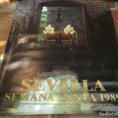 Carteles de Semana Santa: CARTEL DE SEMANA SANTA 1989-SEVILLA. Lote 134772862