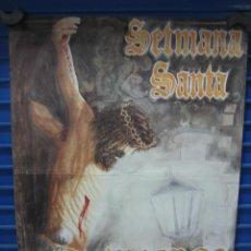 Carteles de Semana Santa: CARTEL SEMANA SANTA DE VINAROS 1995. M 64X49 CM. Lote 134828302