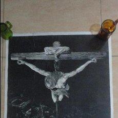 Carteles de Semana Santa: ANTIGUO CARTEL SEVILLA SEMANA SANTA 1962. JEREZ INDUSTRIAL.. Lote 137164630