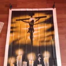 Carteles de Semana Santa: CARTEL DE SEMANA SANTA DE ALICANTE 1944. Lote 137191184