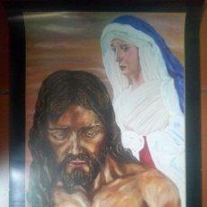 Carteles de Semana Santa: CARTEL SEMANA SANTA MÁLAGA COFRADIA HUMILLACIÓN Y ESTRELLA 2009 A. Lote 137386473