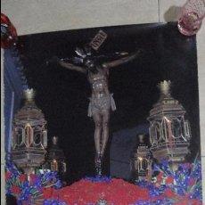 Carteles de Semana Santa: ANTIGUO CARTEL.EL PEDROSO.SEMANA SANTA.CAJA SAN FERNANDO.SEVILLA 1997. Lote 139328386