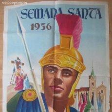 Carteles de Semana Santa: CARTEL SEMANA SANTA BENETUSER VALENCIA 1956 LITOGRAFIA ORIGINAL , SS17. Lote 140890786