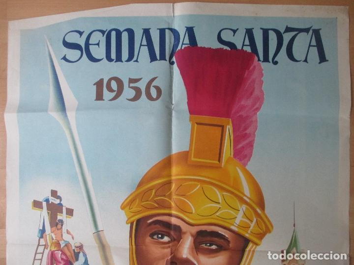 Carteles de Semana Santa: CARTEL SEMANA SANTA BENETUSER VALENCIA 1956 LITOGRAFIA ORIGINAL , SS17 - Foto 2 - 140890786