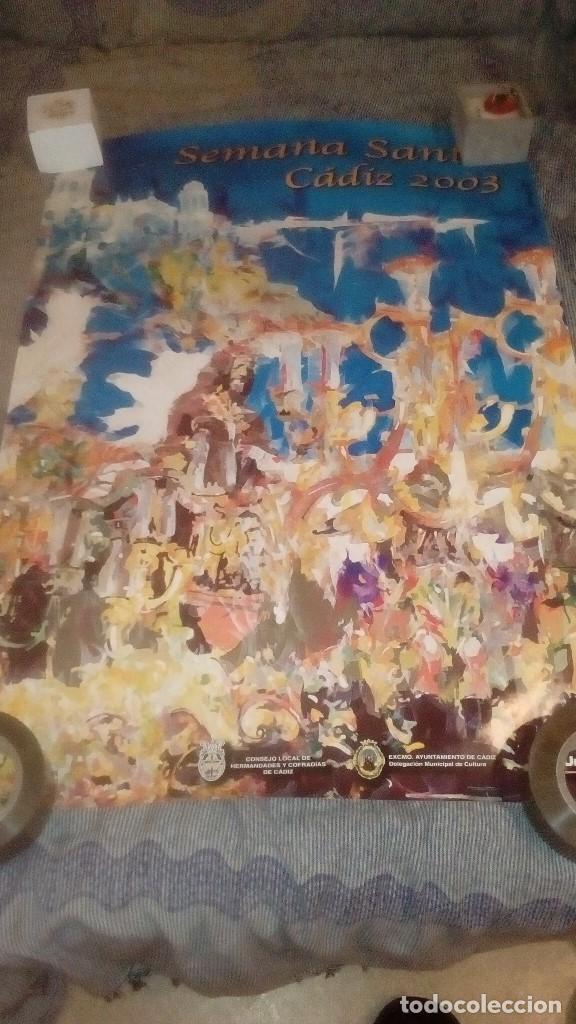 Carteles de Semana Santa: GAR LOTE DE 16 CARTEL POSTER DE SEMANA SANTA DE CADIZ Y SAN FERNANDO VER FOTOS - Foto 2 - 146458310