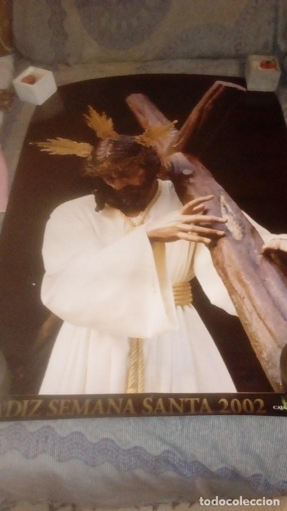 Carteles de Semana Santa: GAR LOTE DE 16 CARTEL POSTER DE SEMANA SANTA DE CADIZ Y SAN FERNANDO VER FOTOS - Foto 5 - 146458310