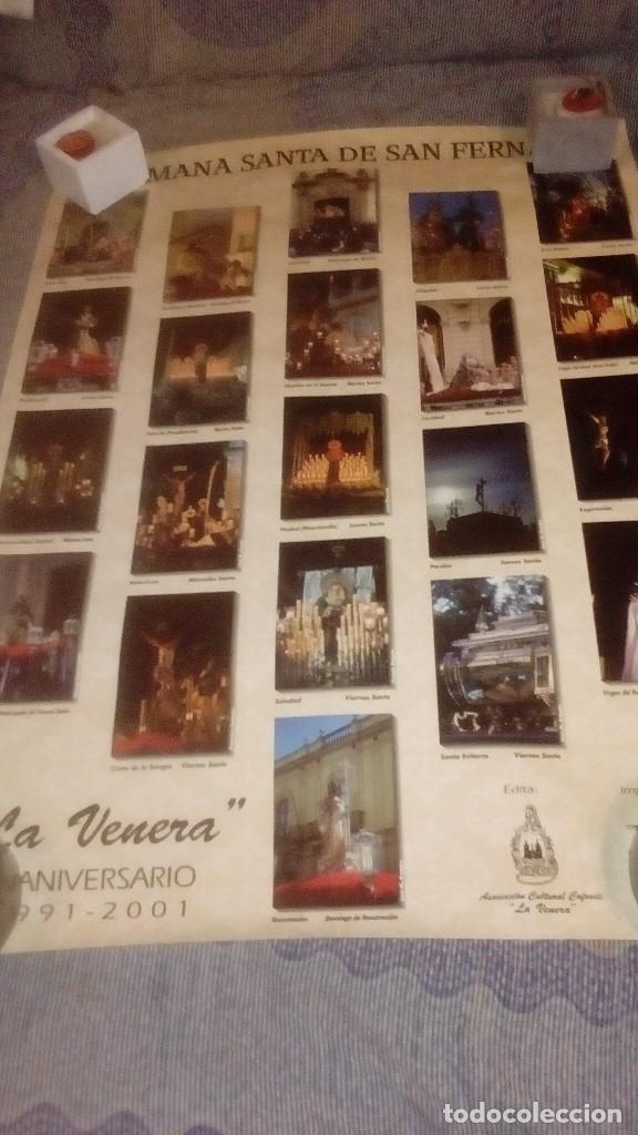 Carteles de Semana Santa: GAR LOTE DE 16 CARTEL POSTER DE SEMANA SANTA DE CADIZ Y SAN FERNANDO VER FOTOS - Foto 7 - 146458310