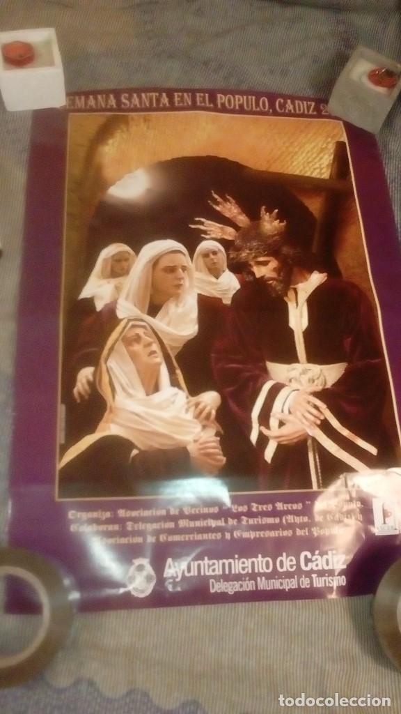 Carteles de Semana Santa: GAR LOTE DE 16 CARTEL POSTER DE SEMANA SANTA DE CADIZ Y SAN FERNANDO VER FOTOS - Foto 12 - 146458310