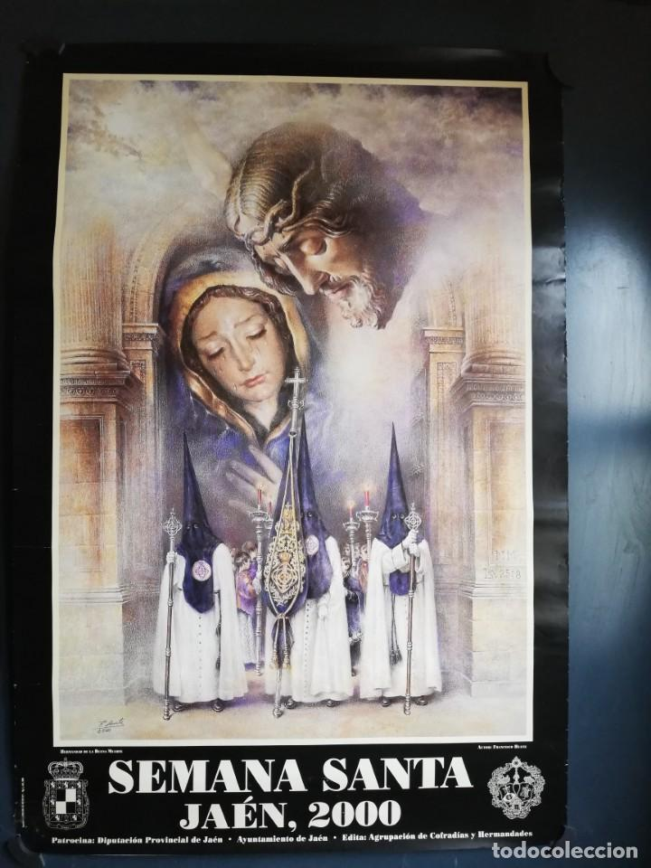 CARTEL SEMANA SANTA 2000 DE JAÉN (Coleccionismo - Carteles Gran Formato - Carteles Semana Santa)